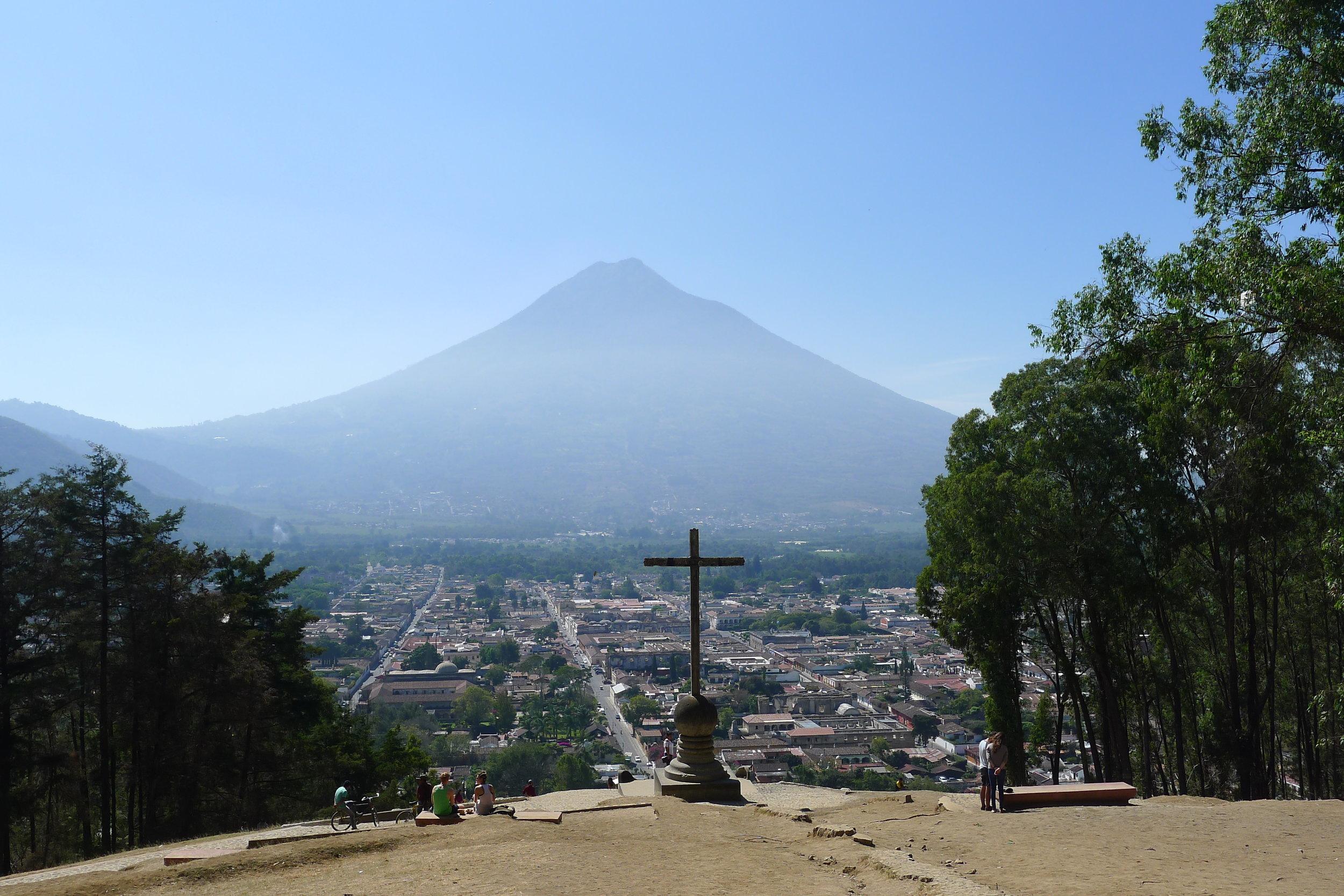 Cerro de la Cruz Antigua, Guatemala