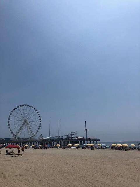 Atlantic City pier