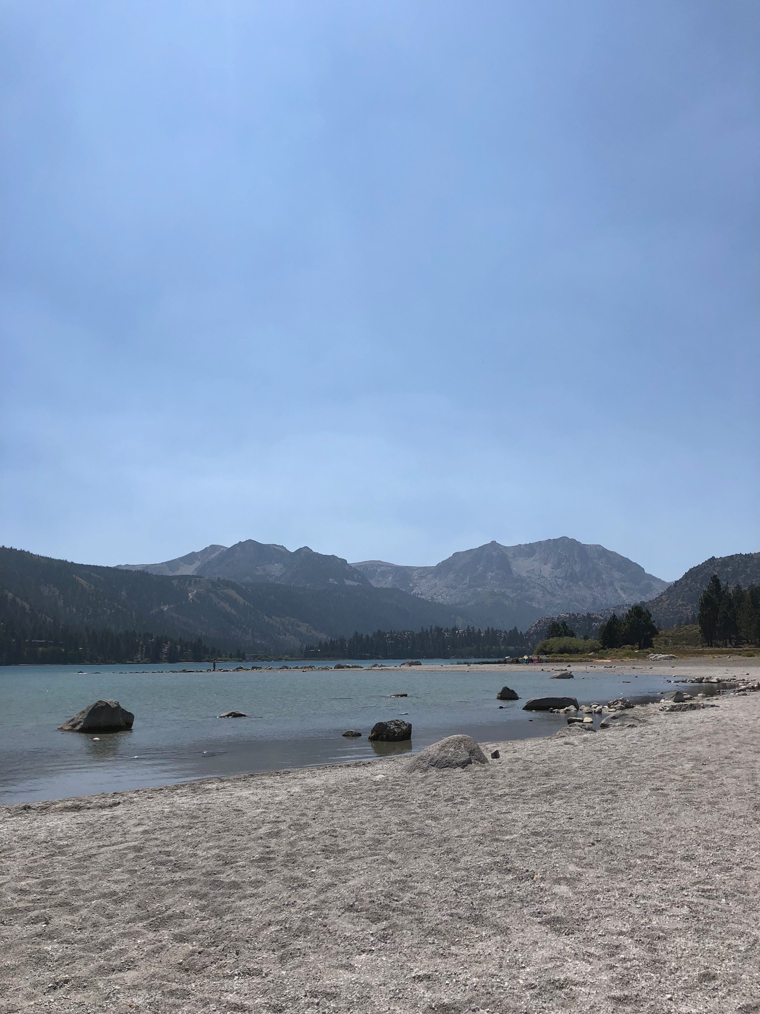 June Lake beach