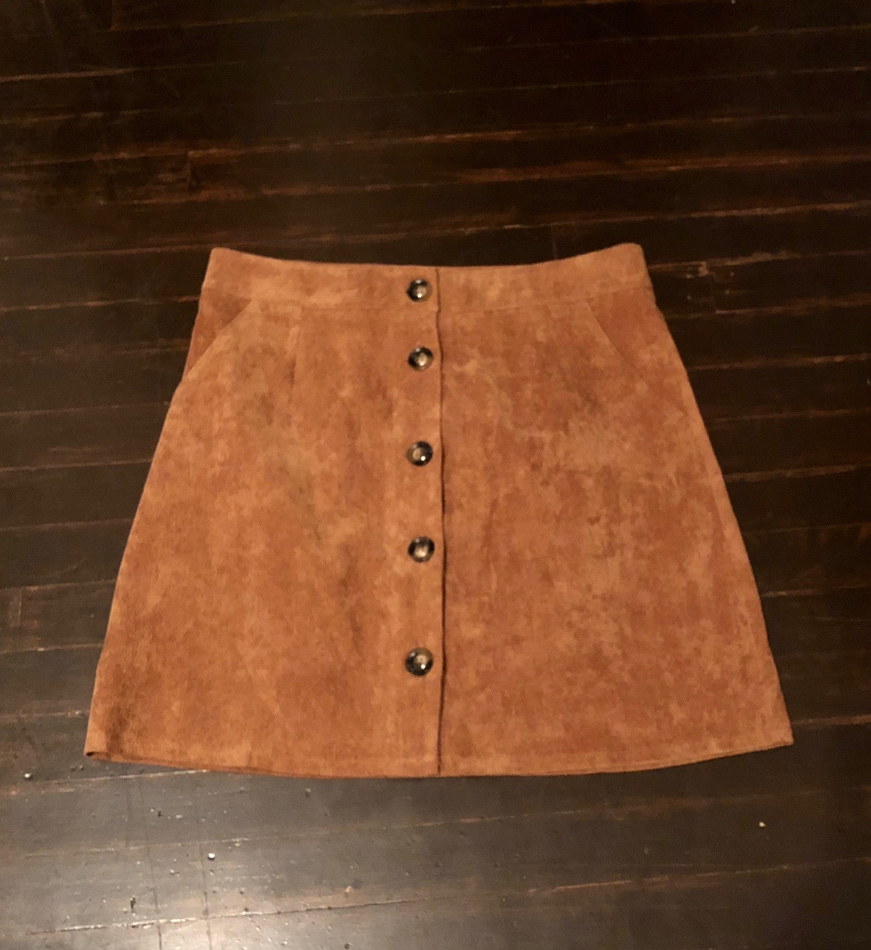 Everly brown skirt