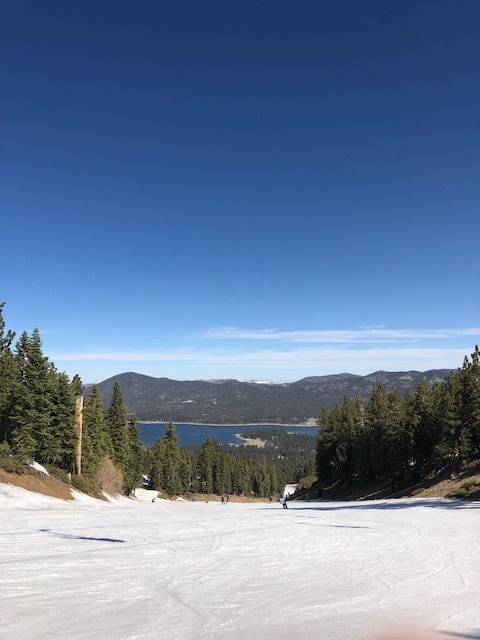 Big Bear Spring skiing