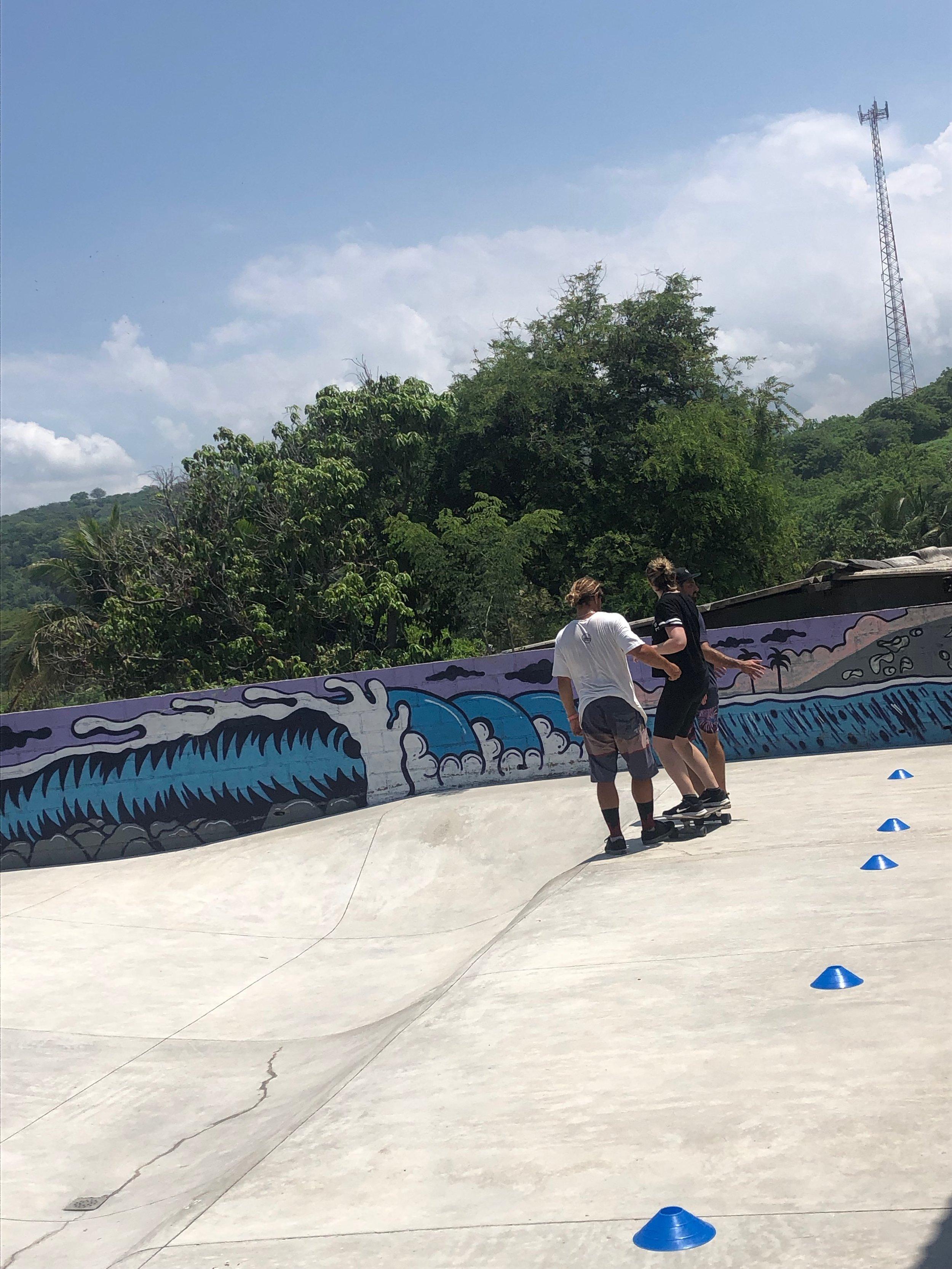 Puro Surf skate park