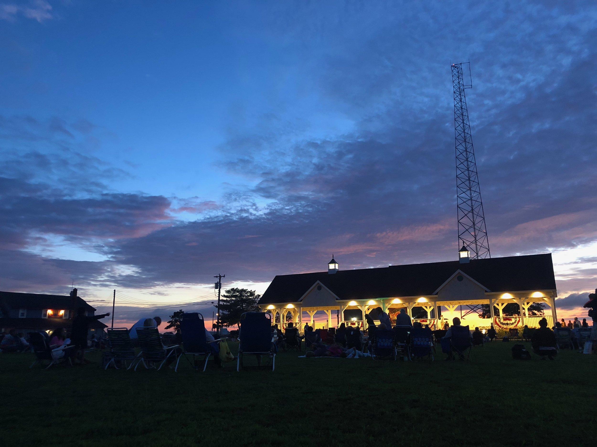 Bayview Park concert