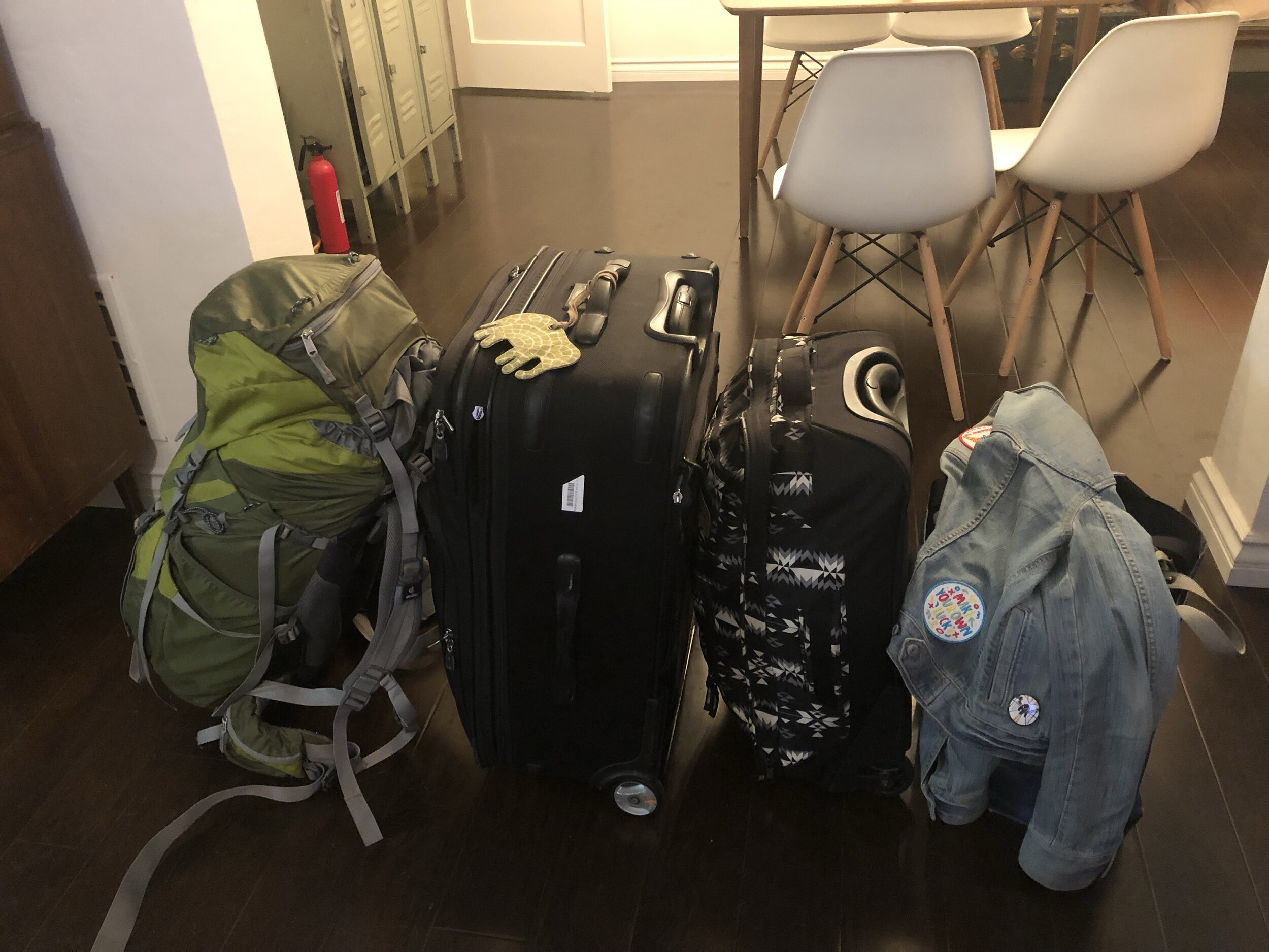 How I packed for a year in Australia