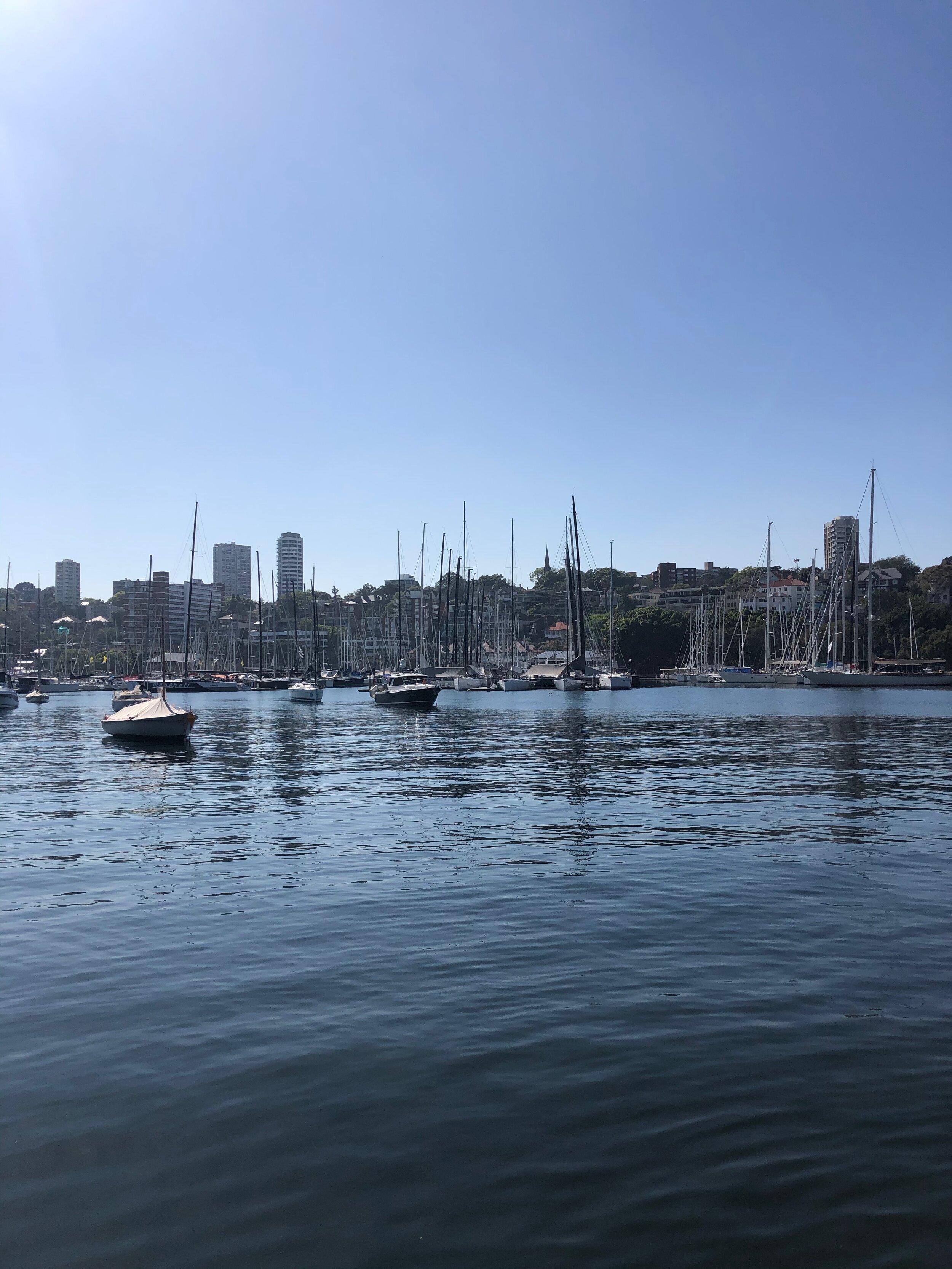 Rushcutters Bay Sydney
