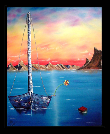 "Drift -60""H x 48""W  Media: oil on canvas"