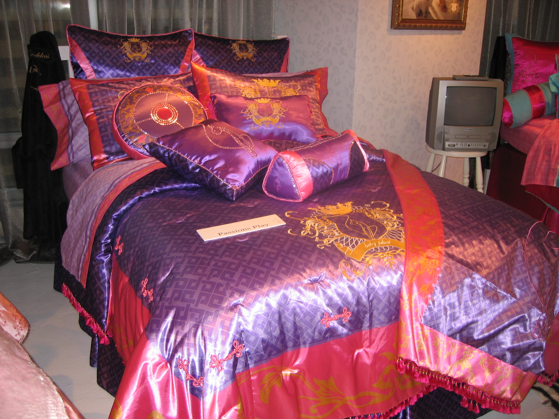 Designed Home furnishings / bedding as Creative Director for Dan River. License for Phat Farm & Baby Phat.