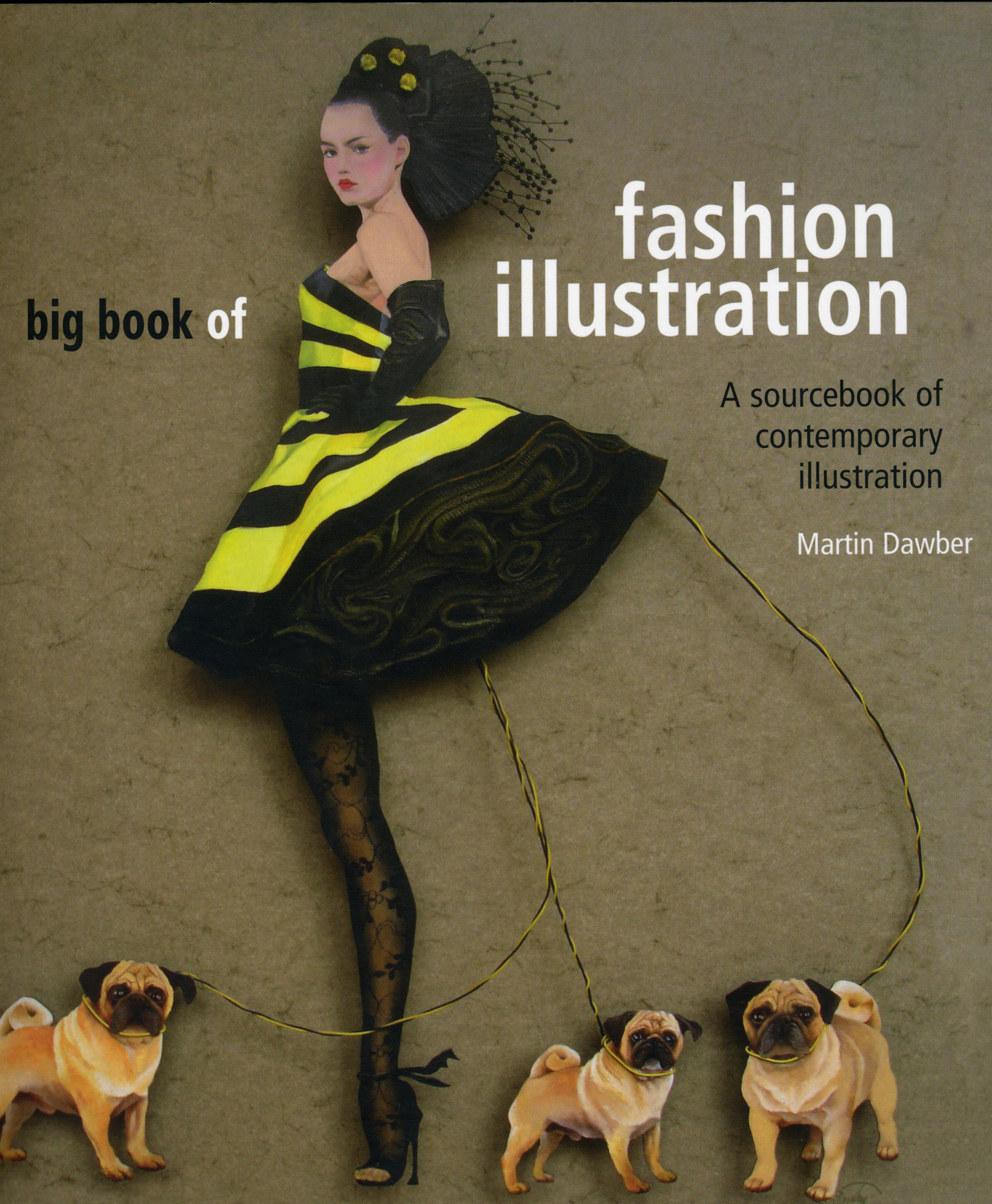Bam's innovative fashion sketch designs are featured in this book.