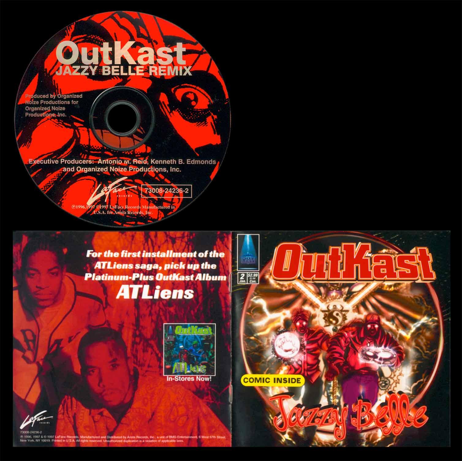 Designed single album cover / CD / Comic Book / for Grammy Award Winning Artist OutKast.