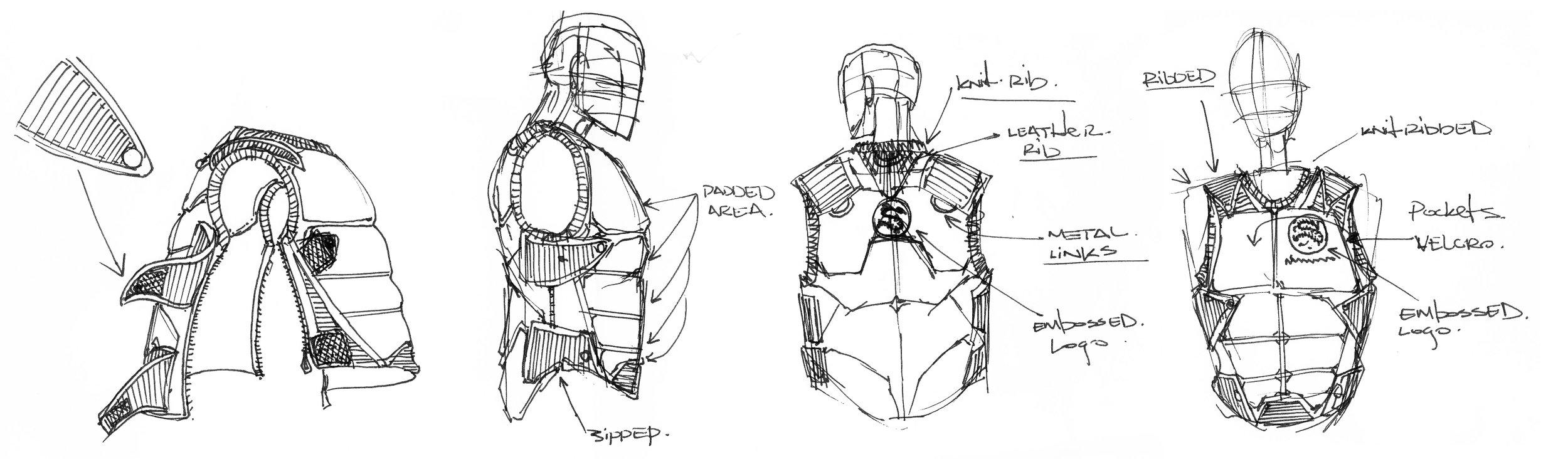 Concept combat vest.