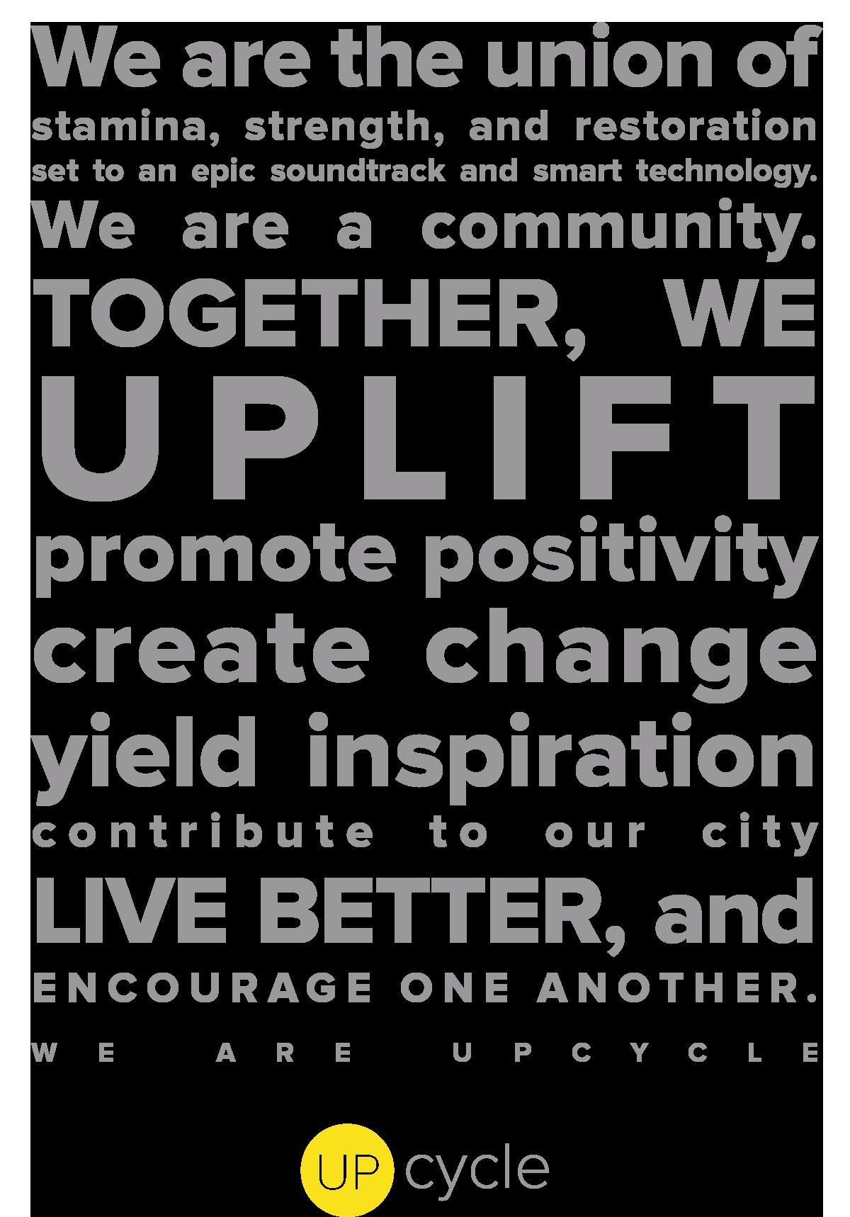 UpCycle Boise Philosophy
