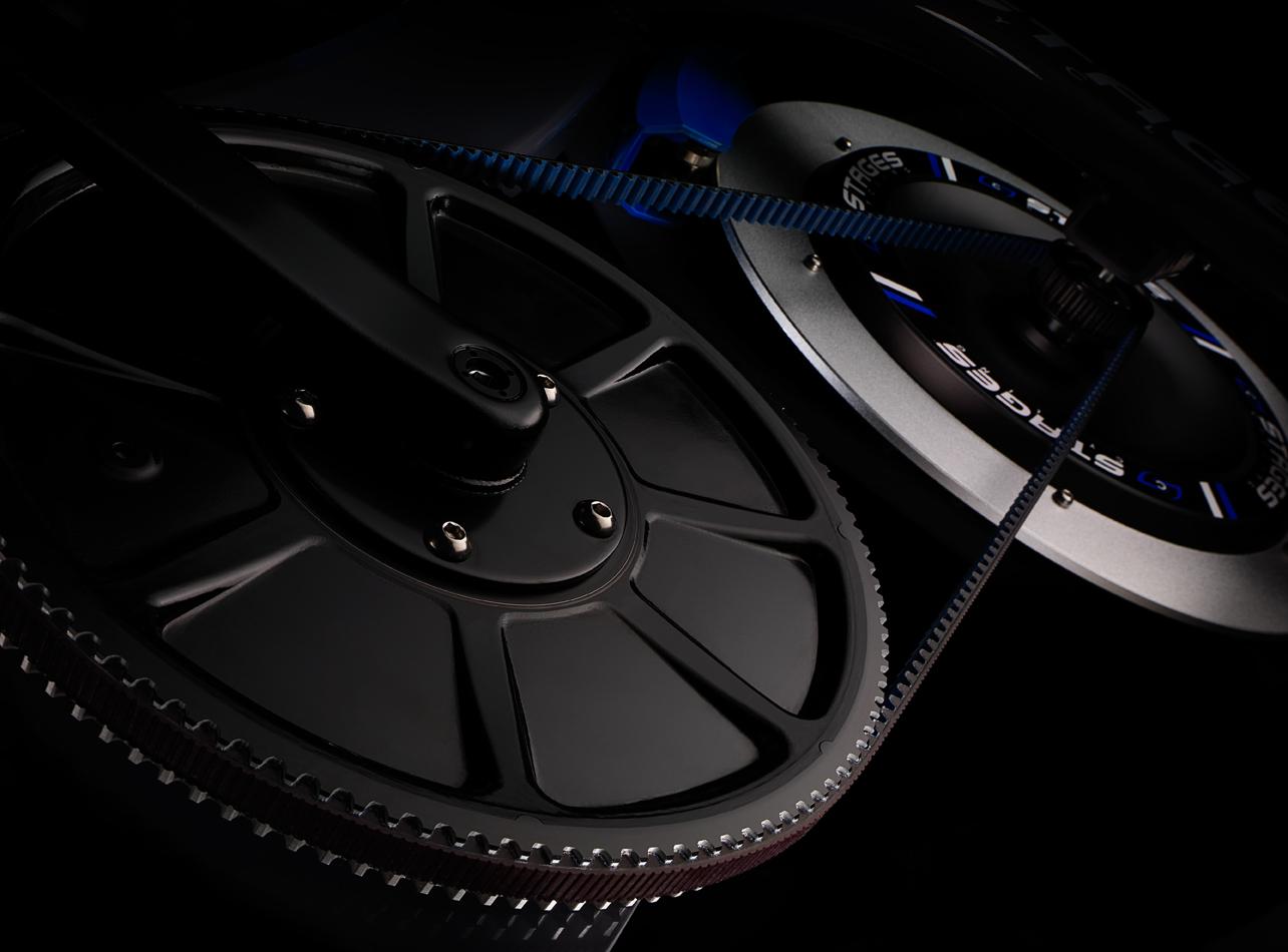 Carbon fiber belts