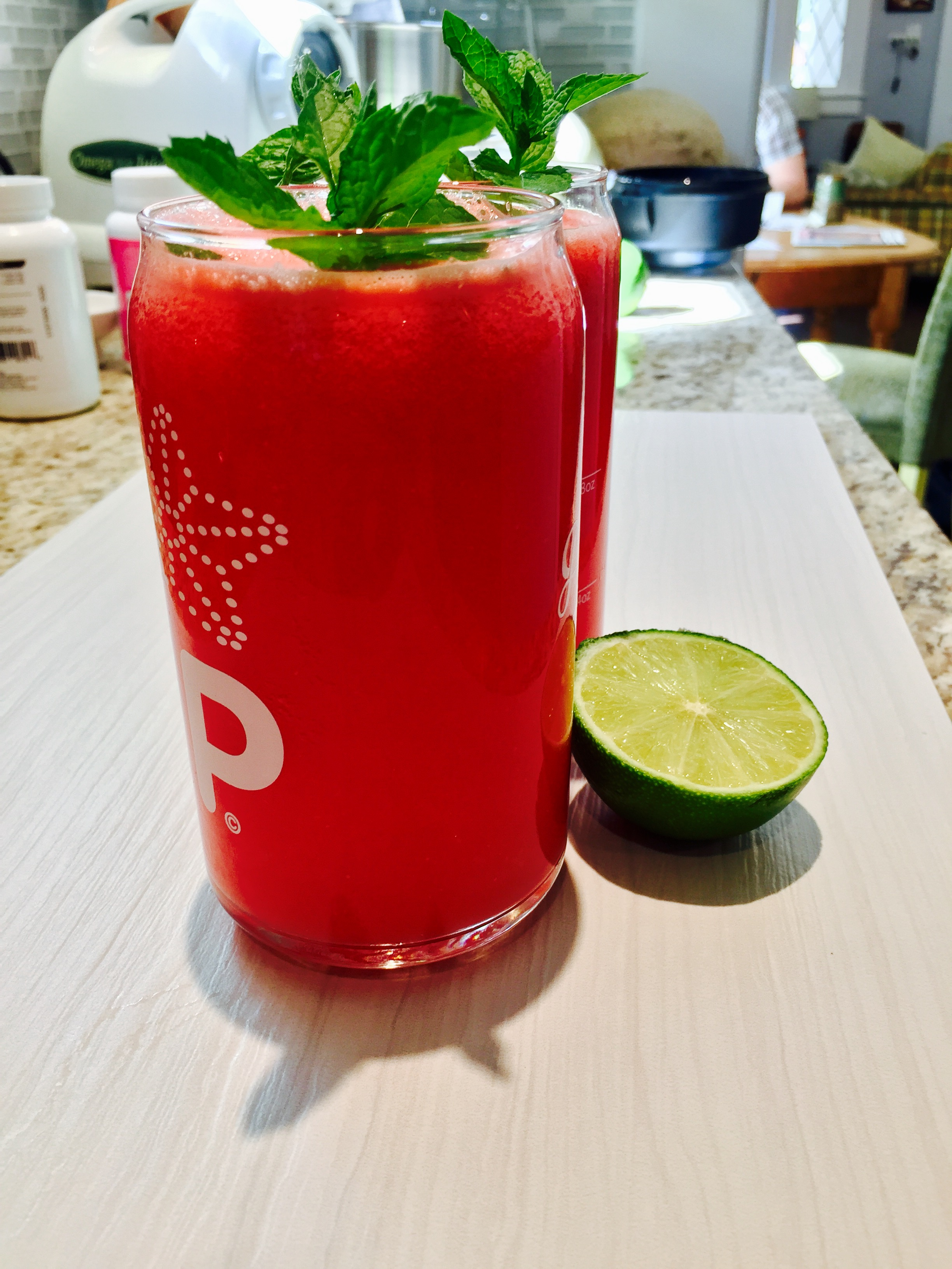 Watermelon Mint Aguas Frescas