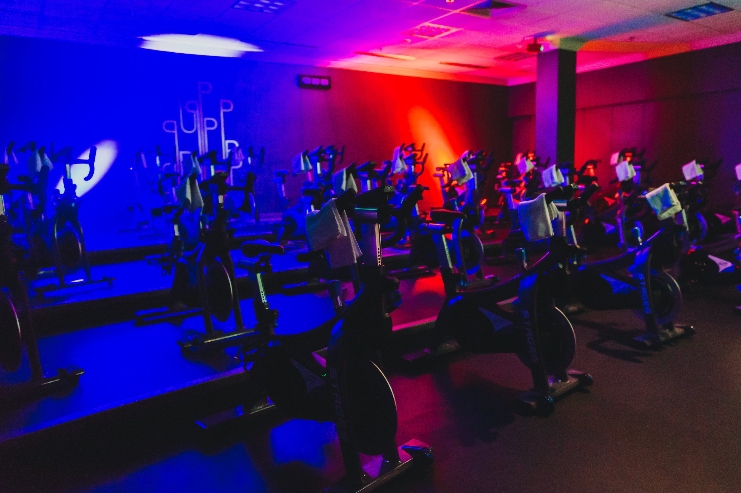 Stadium Seating and Stages Indoor Bikes