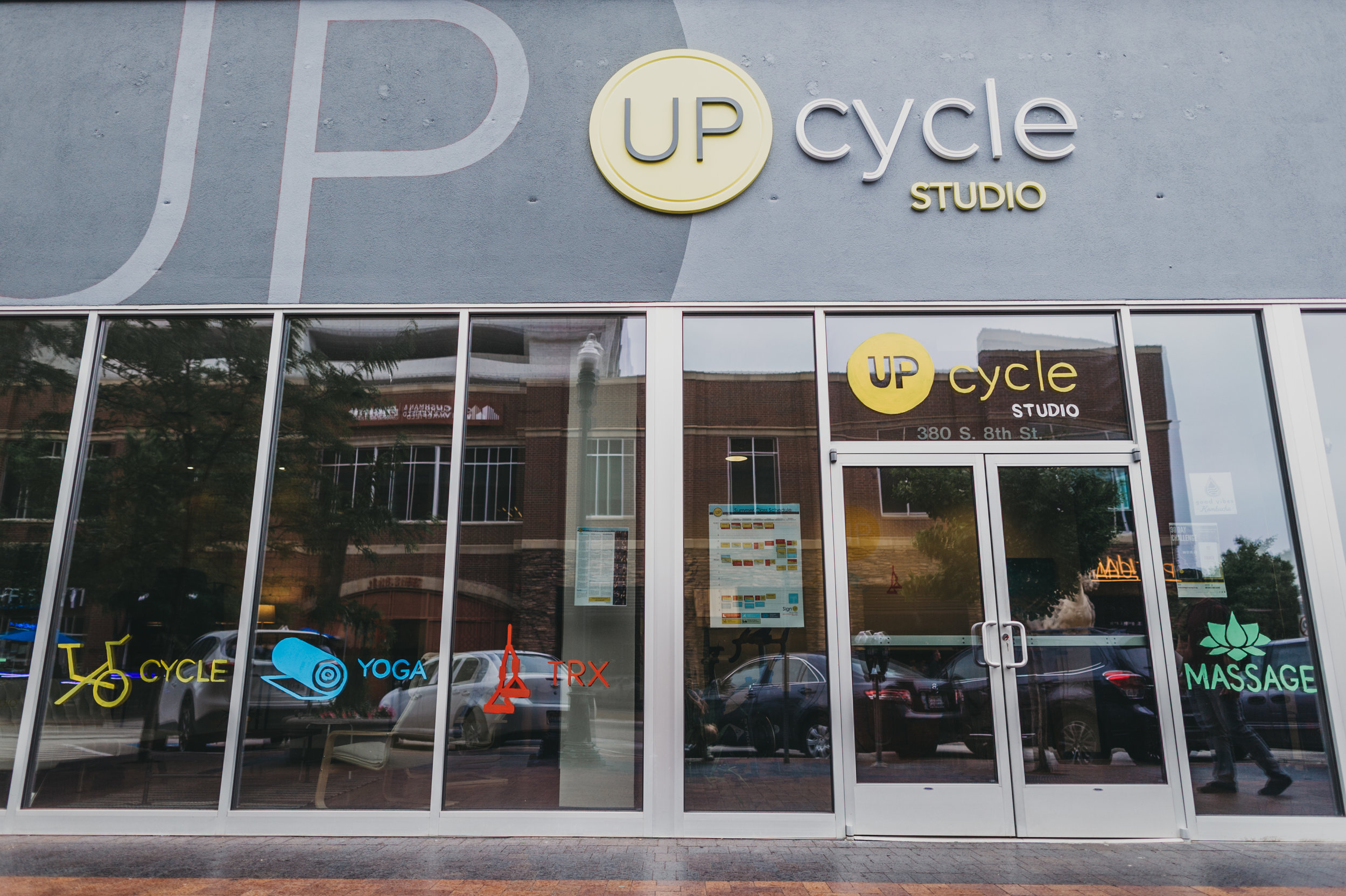 """Come Say """"Hi!""""--Street View of UpCycle"""