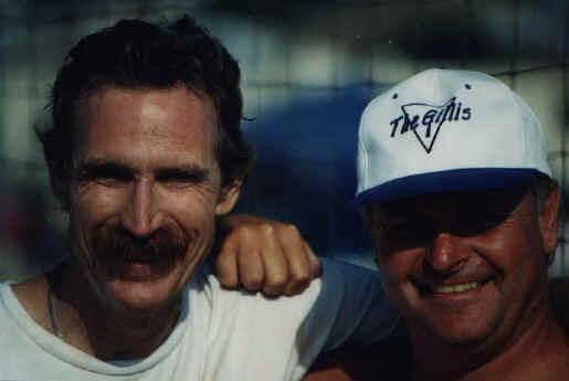 Pat Turley and Dik Johnson