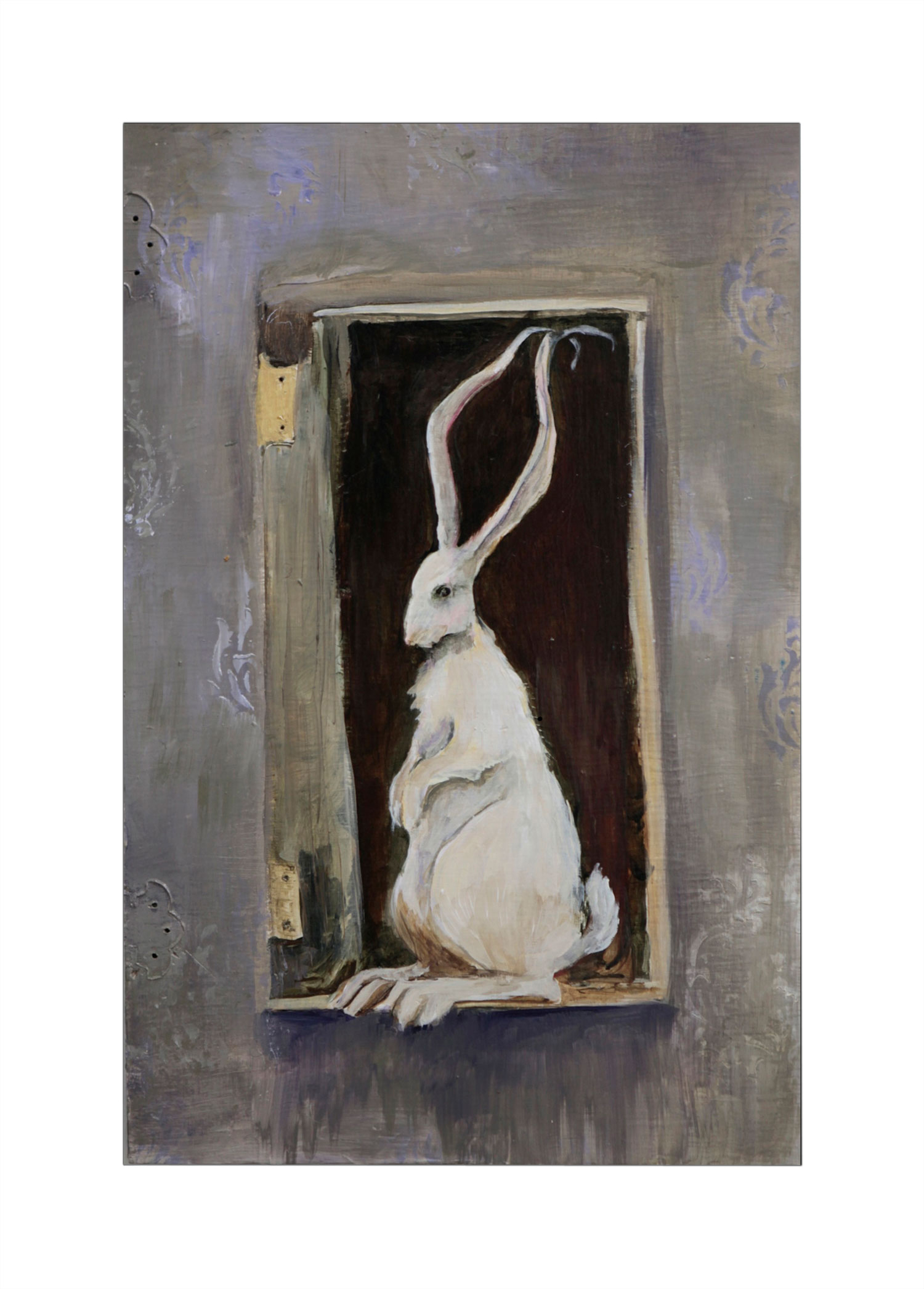 Cabinet Rabbit, Gray