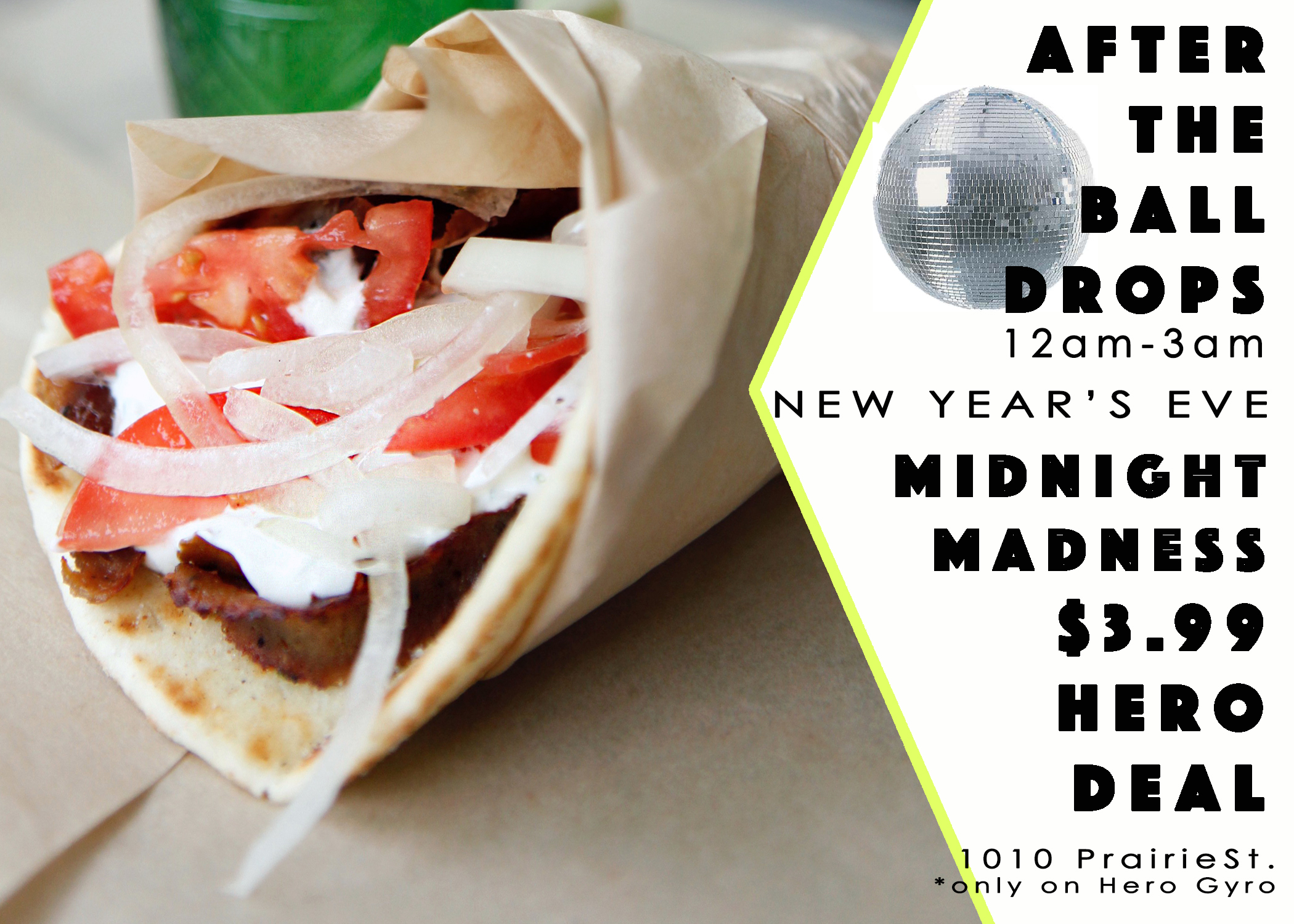 New Year Gyro Deal