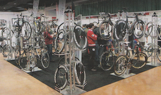 Triathlon disciplines are great cross-training for cyclists. The Triathlon Cycling and Running Show '09 is a great place to get started.  Publication: Cycling Weekly  Feature title: TCR Show '09 | PDF