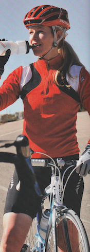 """""""Many sports brands have blanked versions of their hydration formulas, gels and bars with a measured does of caffeine""""  Publication: Health & Fitness For Cyclists  Feature title: Hoe is a sports drink superior to water?   PDF"""