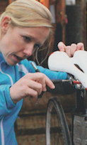 Give yourself transition time when changing bikes, shoes, cleats, pedals, etc.  Publication: Health & Fitness For Cyclists  Feature title: Making changes too quickly | PDF