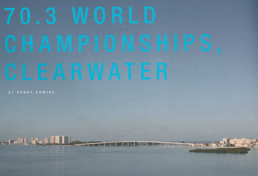 Ironman 70.3 has become a growing phenomenon, boasting 32 races in 2009 only after 3 years of becoming an endorsed circuit.  Publication: New Zealand Multisport  Feature title: 70.3 World Championships, Clearwater | PDF1 ,  PDF2