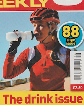 cover photo  Publication: Cycling Weekly  Featured title: cover   PDF