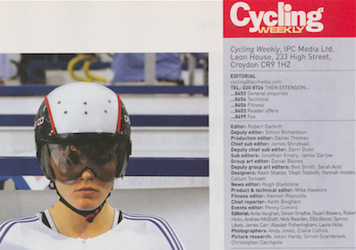 Events Editor  Publication: Cycling Weekly  Feature title: Events Editor | PDF