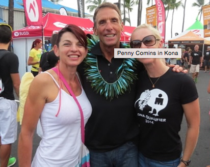 Penny Comins is loving it..Kona that it! The long journey which she has documented here is almost over and it's time to get ready to race.  Website: Tri247   Feature link