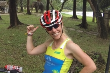"""With only three weeks to go now until Kona, Penny Comins is still """"sweating in Thailand"""" in preparation for her first Ironman World Championship appearance. Thankfully, the surroundings of Thanyapura ( www.thanyapura.com ) mean she is surrounded by plenty of experience to ask questions all while dodging typhoons...  Website: Tri247   Feature link"""