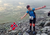 Could she do it? Could Penny Comins achieve her goal of a black t-shirt by finishing at the top of Gaustatoppen, the tallest mountain in Norway to complete the epic Norseman Xtreme Triathlon?  Website: Tri247   Feature link