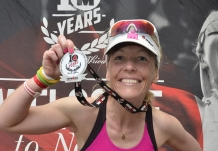 "In her latest update, Kona-bound Penny Comins heads to Wales for a BIG weekend of training, revisiting Tenby and the Ironman Wales bike course she last rode three years ago at the first edition of that race. ""If you call yourself mad then this is your course,"" she reckons.  Website: Tri247   Feature link"