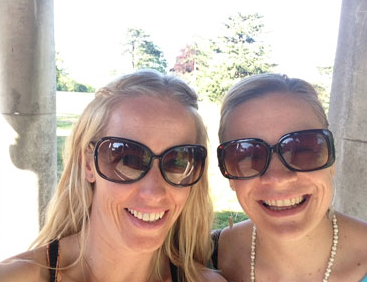 Penny Comins and her friend Dr Nicole Paine prepare for the Laugavegurinn Ultra Marathon  Website: Run247   Feature link