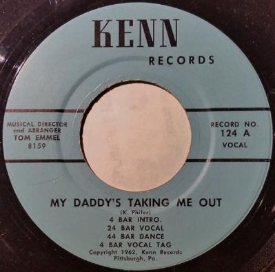 A Kenn Record by Ken Phifer, 1962.