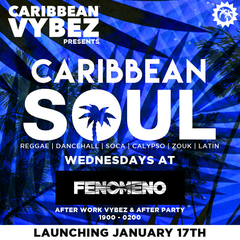 Every Wednesday starting 17th January at Fenomeno