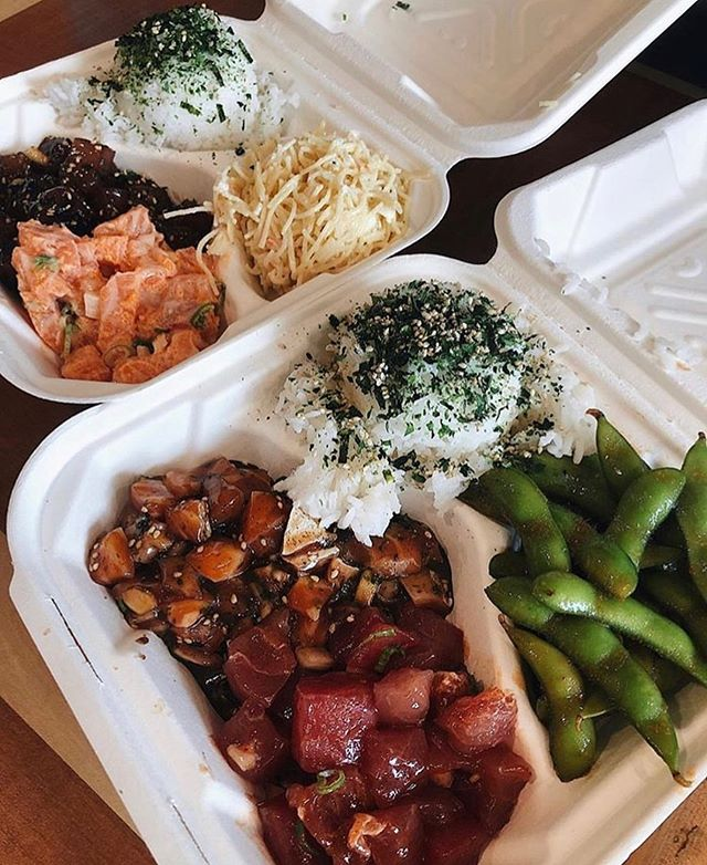 @itsrawpoketruck is bringing their #poke #yumminess to #theparksd today!