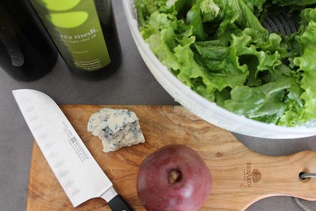 Pear and Gorgonzola Salad 2