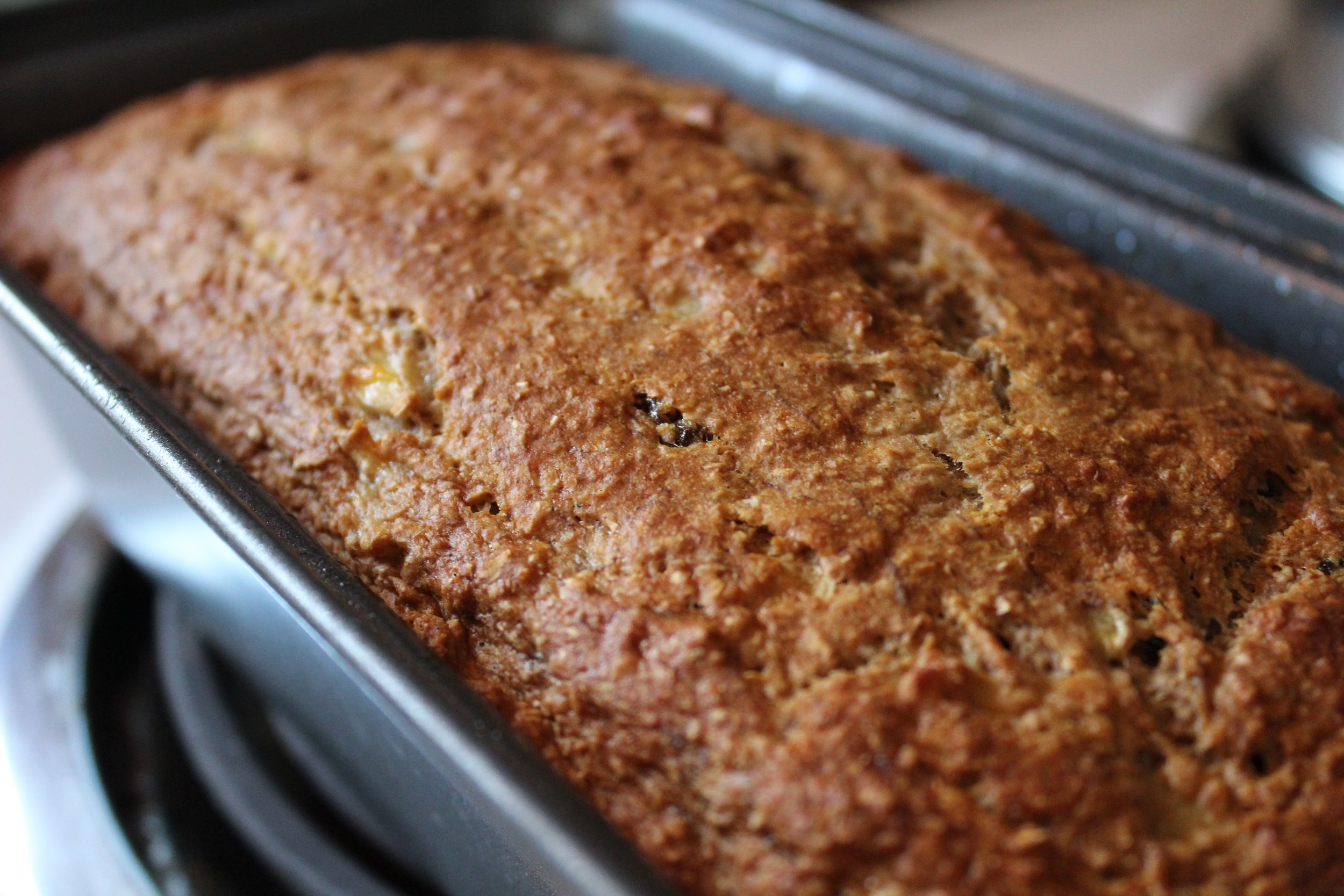Cooling Loaf for Sugar-Free Banana Bread