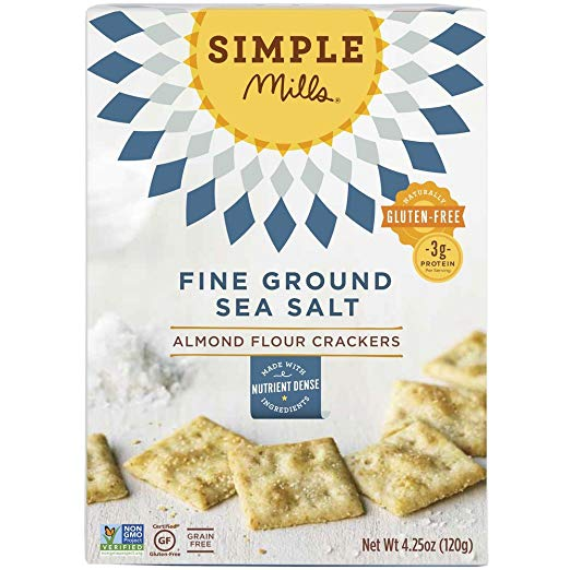 Dipped into hummus or eaten with cheese, these gluten-free crackers are everyone's favorite. They are salty (which I love), so they pair well with lots of dips.
