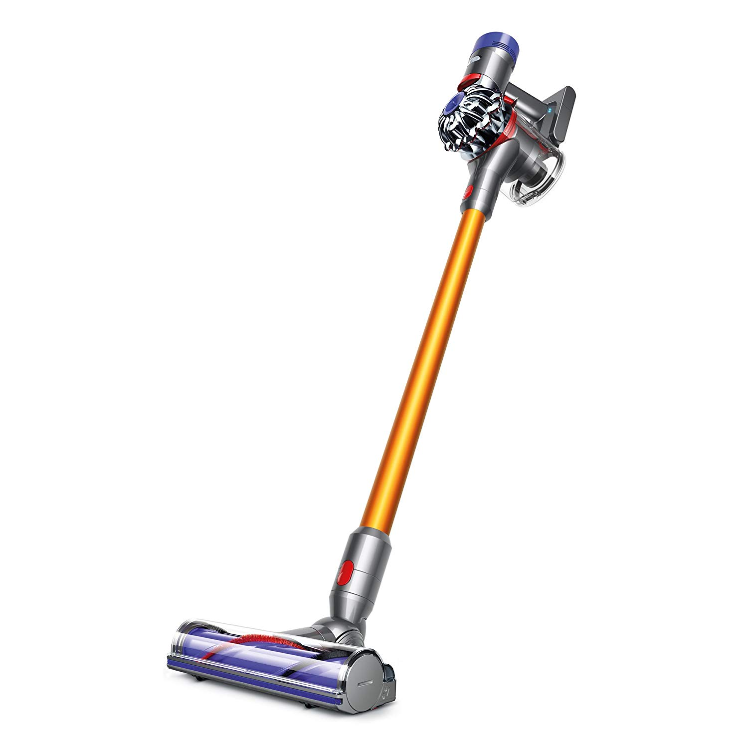I am so obsessed with this cordless Dyson vacuum, that I use it almost everyday (just because). It's light weight, hassle-free without any cord, comes with a variety of cleaning heads for any area or crevice, and transforms to a hand-held vacuum. You need this vacuum in your life- you're home will be so clean because it's so quick and easy to use!
