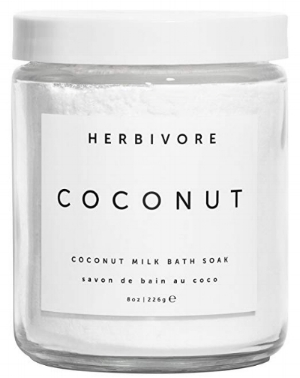 Nothing says self-care more than a relaxing bath. This Coconut Milk Bath is made with real coconut milk and coconut pulp, and softens the skin.