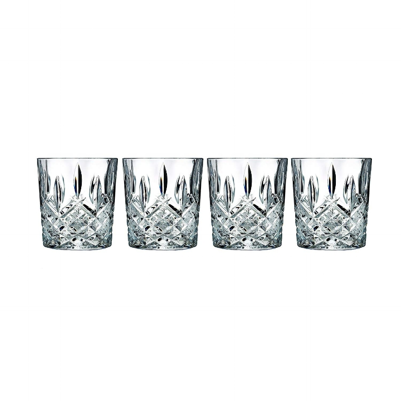 These Waterford glasses are stunning! Perfect for old-fashioneds, whiskey sours, sweet tea, or water, you'll love serving guests their drinks in these. Elegant! They're $40 on Amazon instead of the usual $100 :)