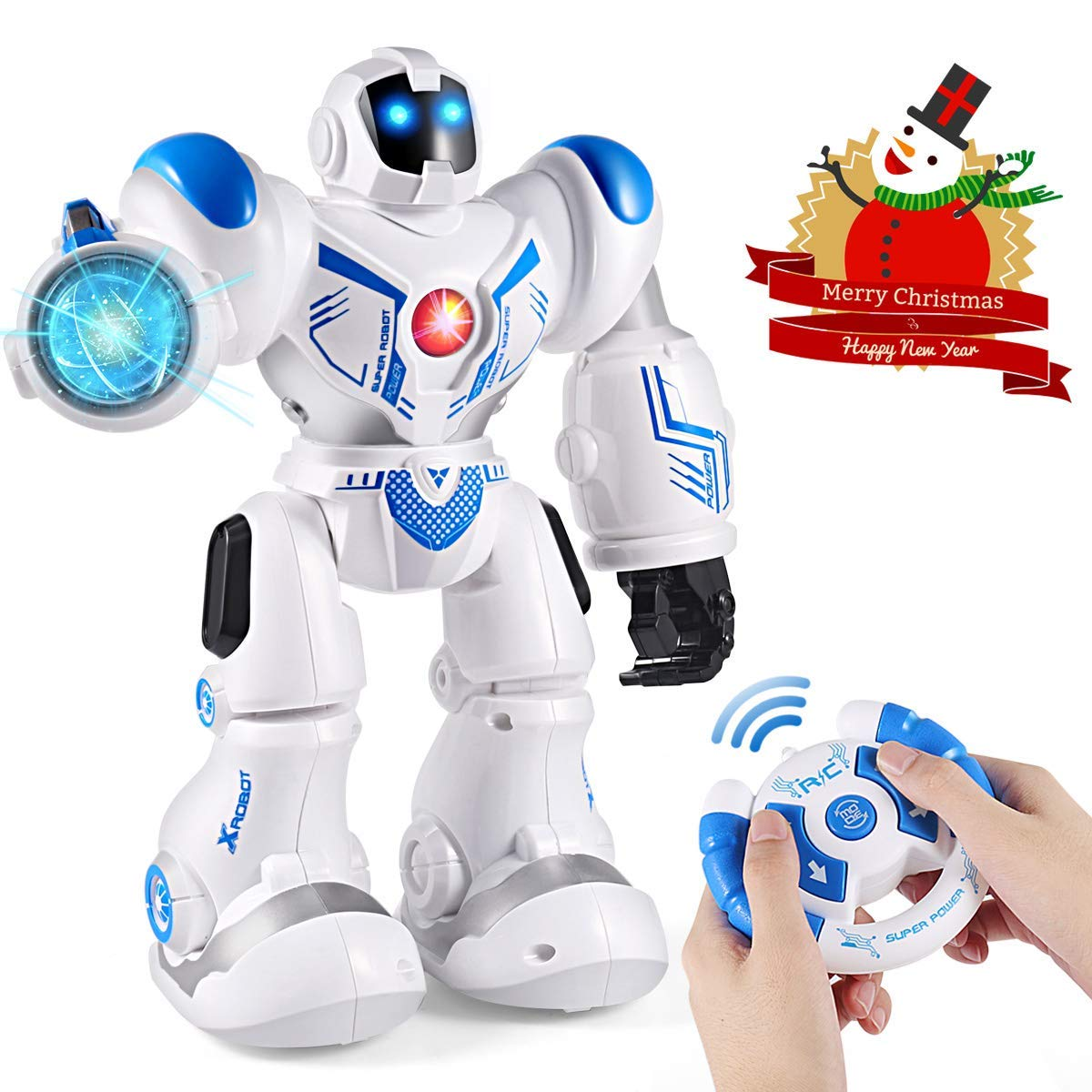 I love that this robot asks science questions and sings songs! Perfect for any child on your list :)