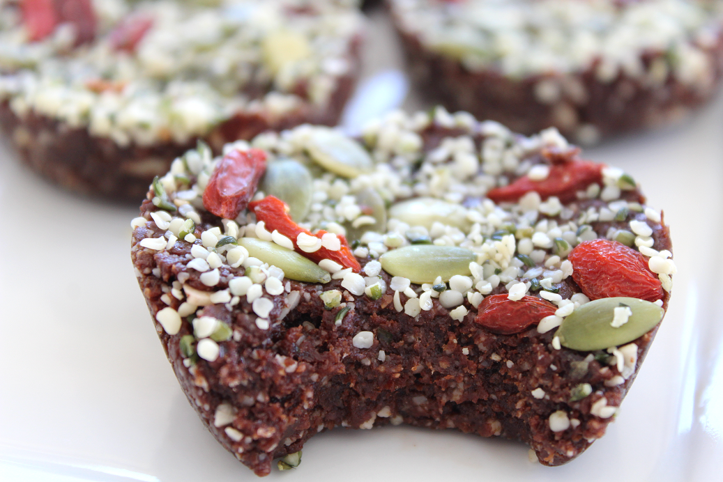 The ultimate healthy snack meal prep recipe to keep you energized and satisfied! Mexican Hot Chocolate Superfood Raw Brownies (Vegan, GF) is simple, quick, and easy!