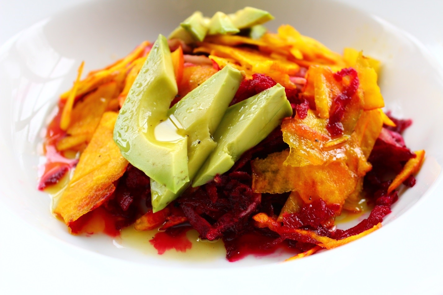 Tricolored Beet and Avocado Salad with a Spicy Honey Dressing.jpg