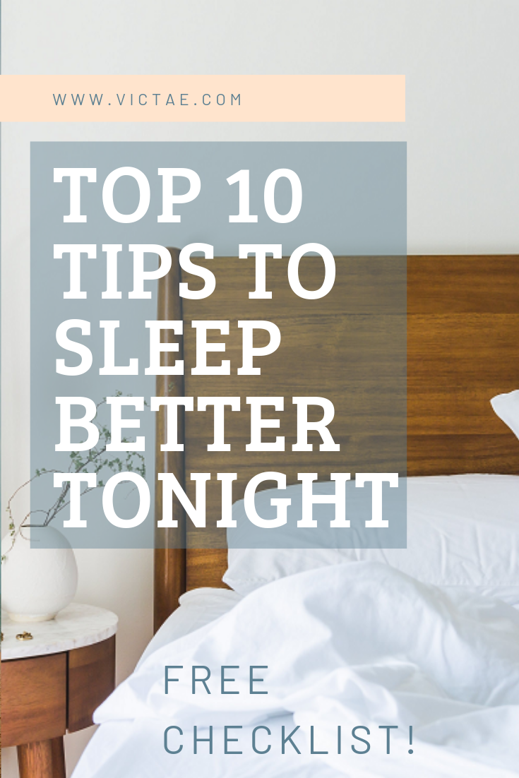Have you noticed that you've gained a few pounds lately?  But you're not sure why?  It turns out that poor sleep is a major contributor to weight gain and serious food cravings! If you want to sleep better tonight, grab your FREE Checklist for the Top 10 Tips to Sleep Better Tonight here>>