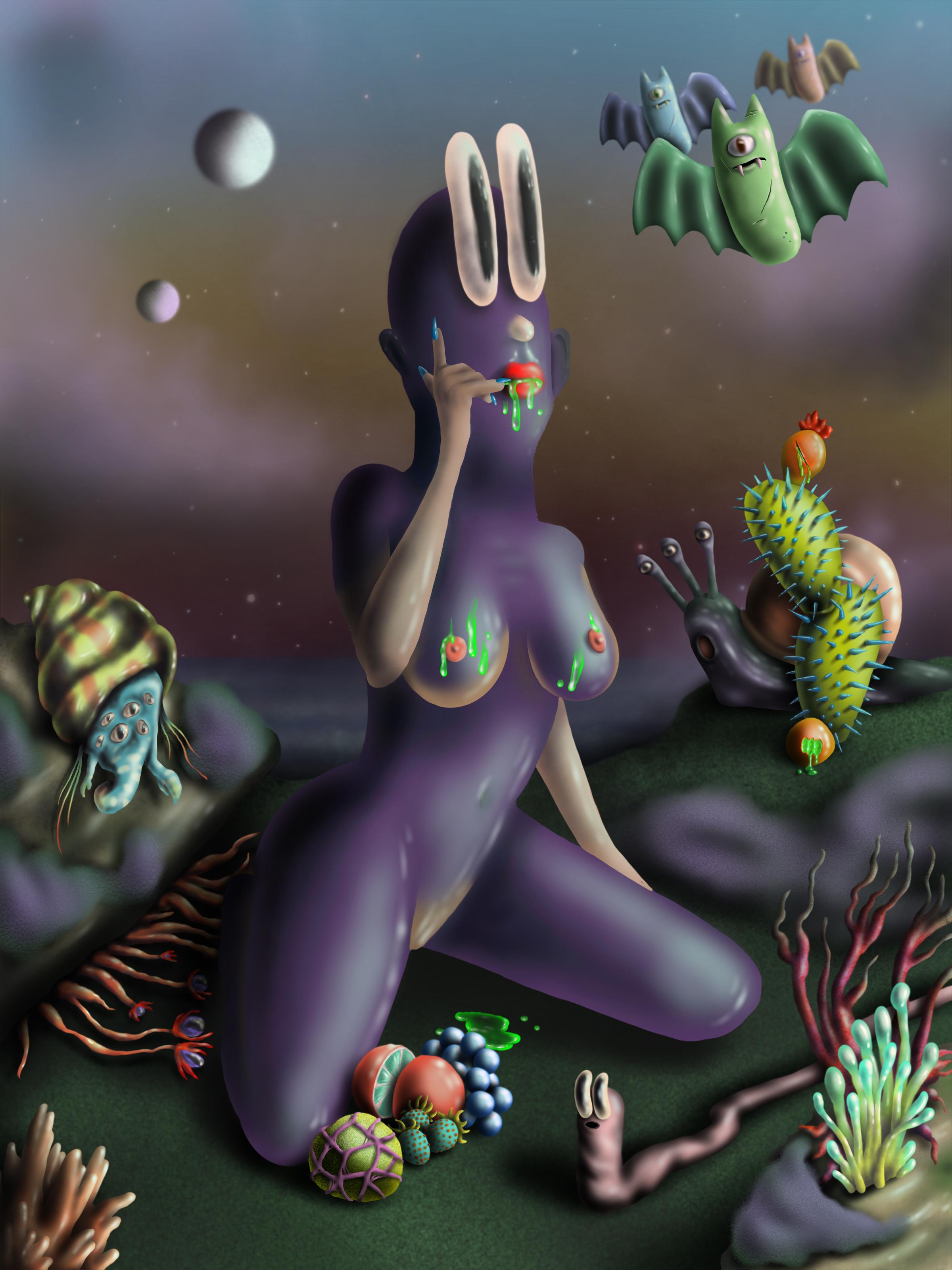 Alien Garden, 2019