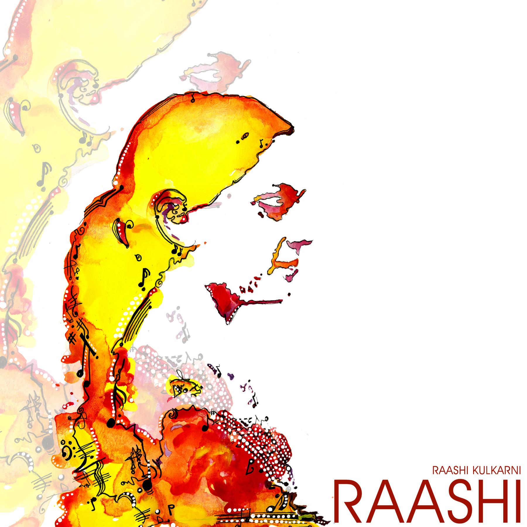 Raashi's debut EP now available worldwide.