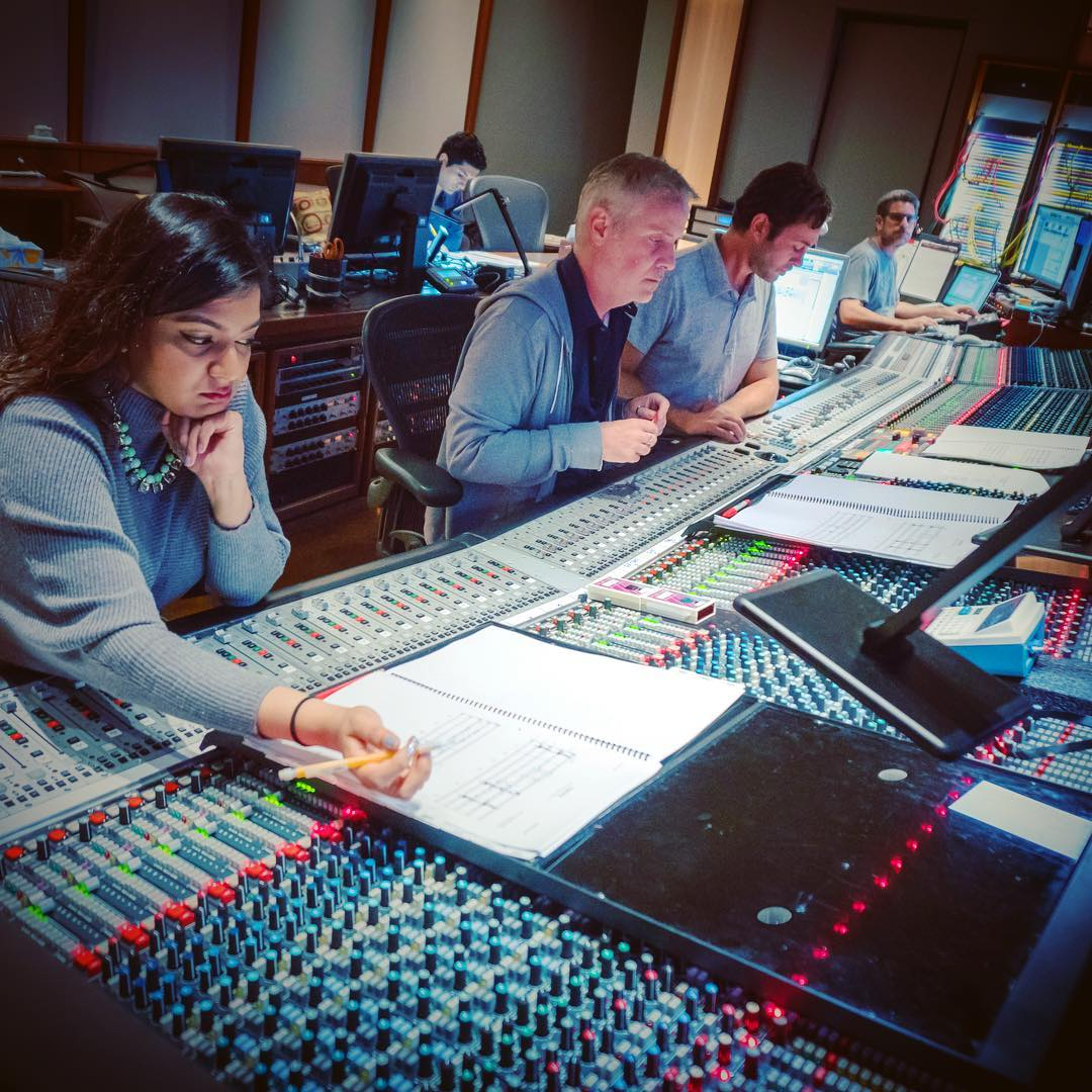 Warner Brothers Scoring Session
