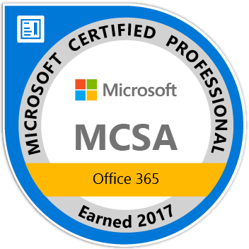 MCSA - Office 365